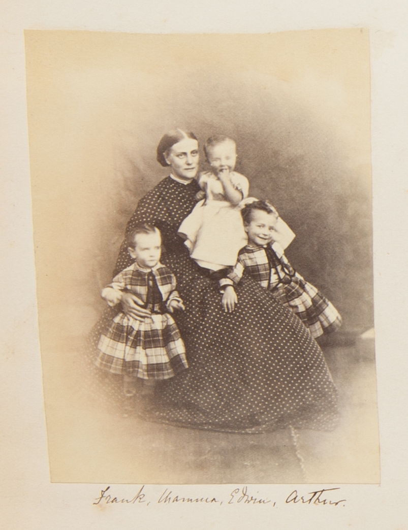 Nina and Children, from the Georgina Ferguson Album