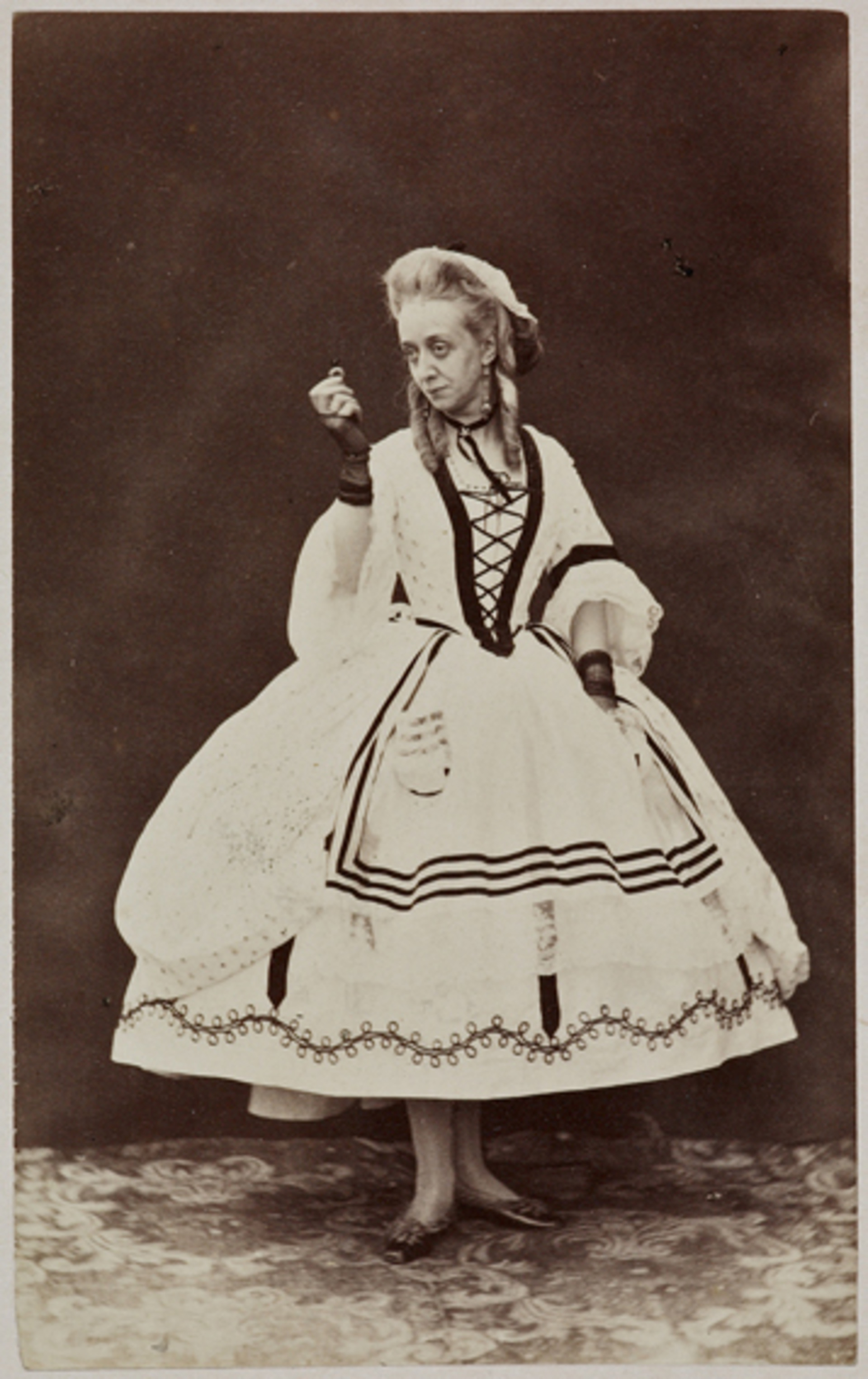 Miss Stapleton as Bobbin, in 'Popping the Question'