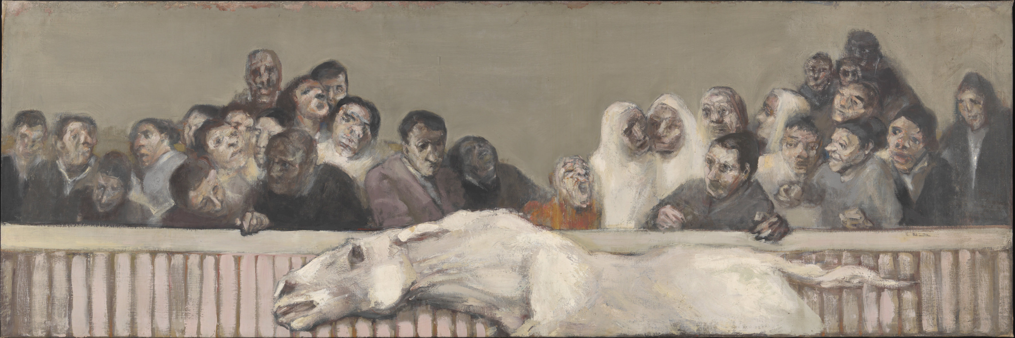 1955–6, oil on canvas, 100 × 300 cm. Collection of Tate (T14296).