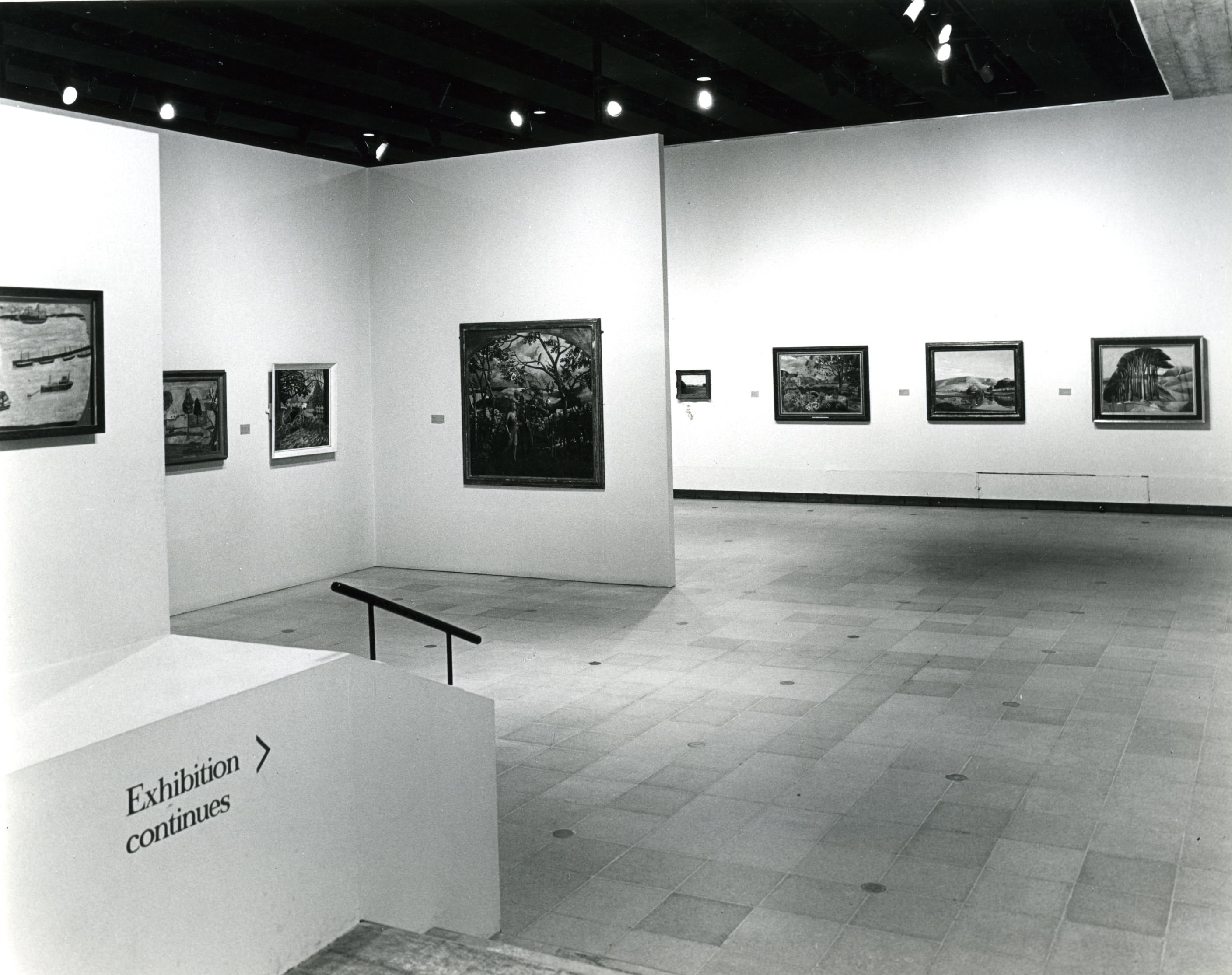 1983, installation photograph, Hayward Gallery, Southbank Centre.