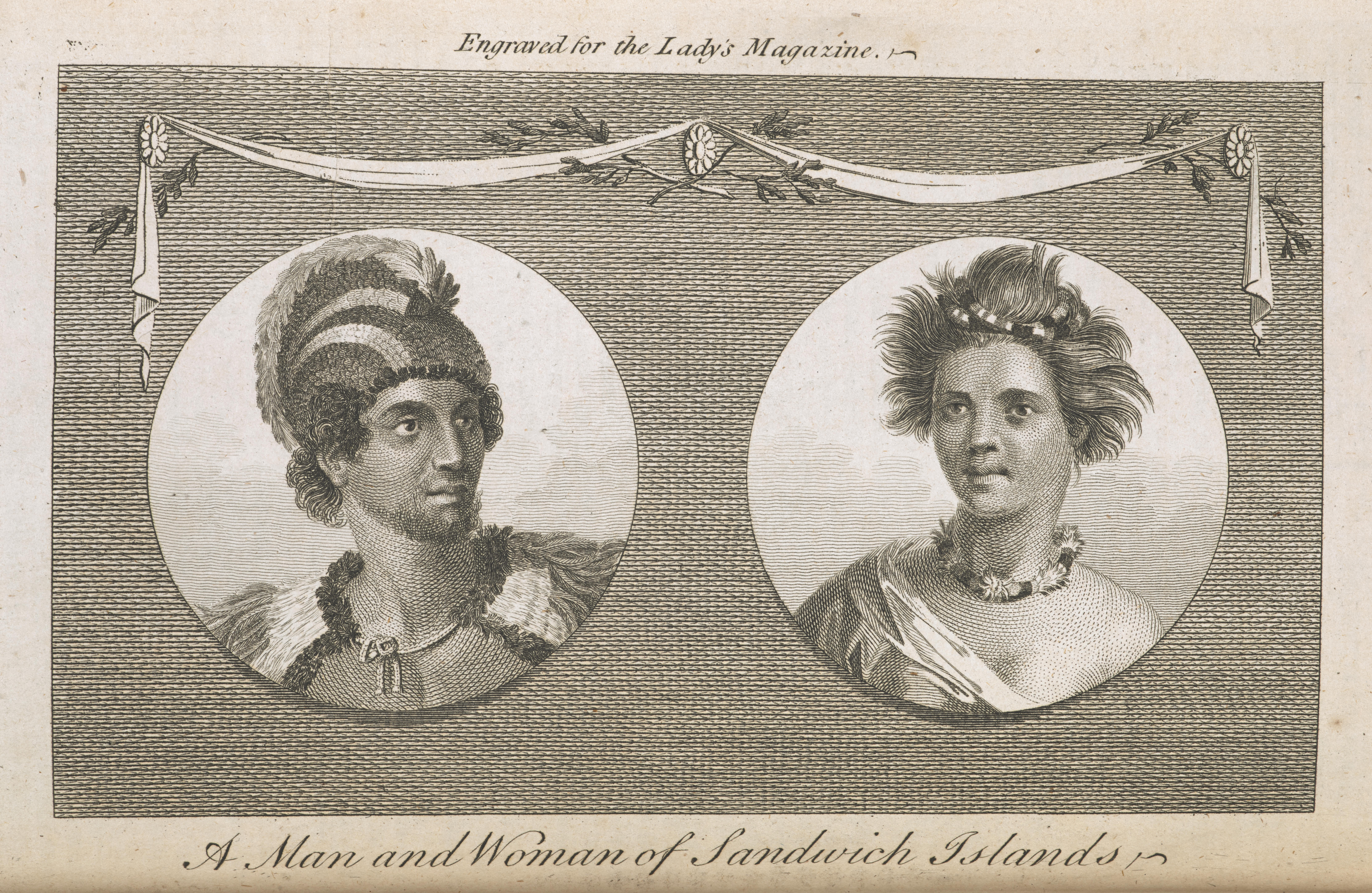 from <i>The Lady's Magazine</i>, 15, 1784, facing p. 285, engraving, 9.3 x 15.7 cm. Collection The British Library (P.P.5141).