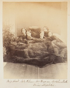 Women in fur, from the Georgina Ferguson Album