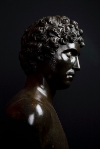 photograph of Antico [Pier Jacopo Alari-Bonacolsi], <i>Bust of a Young Man</i>, the J. Paul Getty Museum, CA