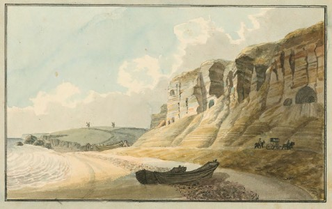 published in <i>An Essay on Landscape, Explained in Tinted Drawings</i> (Richmond, Virginia: Library of Virginia, 1798–99), 1797–99, watercolour, 19.1 x 26.1 cm.