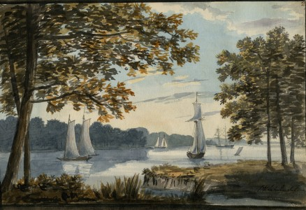 1796, watercolour, 17.7 x 26.6 cm. Collection of Maryland Historical Society (1960-108-1-1-26).