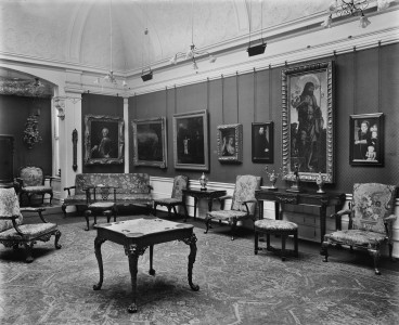 Interior of the Burlington Fine Arts Club, 17 Savile Row