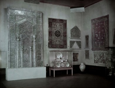 Gallery III, the International Exhibition of Persian Art, at the Royal Academy of Arts