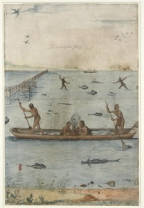 Indians Fishing