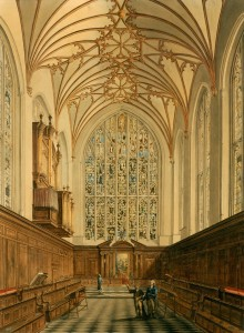 1802, watercolour, 73 x 55 cm. Collection of Winchester College.