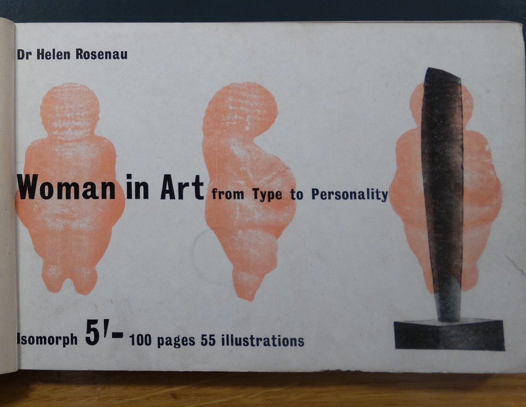 Reproduced on the cover of Helen Rosenau, <i>Woman in Art: From Type to Personality</i> (London: Isomorph, 1944). British Library, London