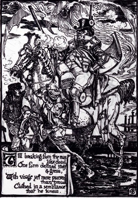 pen and ink, 38.1 x 27.9 cm. Walter Crane Archive, Whitworth Art Gallery, University of Manchester