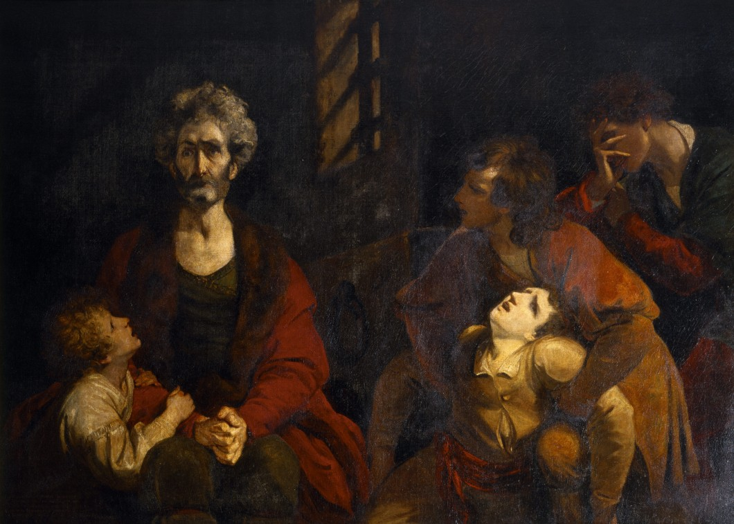 ca. 1770-73, oil on canvas, 125.7 x 176.5 cm