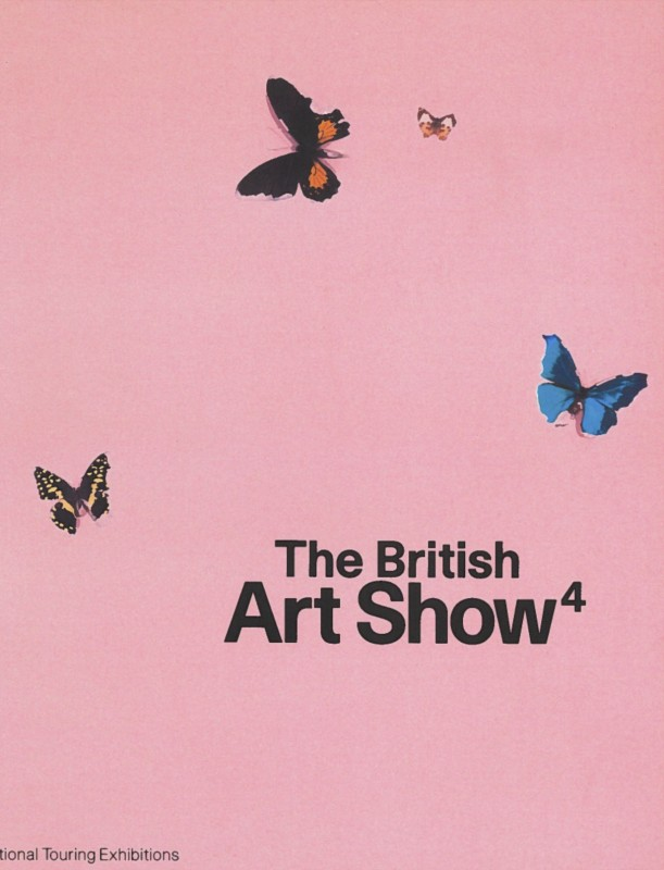 ISBN: 9781853321450. Artists in British Art Show 4 included Tacita Dean, Anya Gallaccio, Douglas Gordan, Damien Hirst, Steve McQueen, Chris Ofili, Sam Taylor-Wood, Mark Wallinger, Gillian Wearing and Jane and Louise Wilson. The exhibition toured to venues in Manchester, Edinburgh and Cardiff.