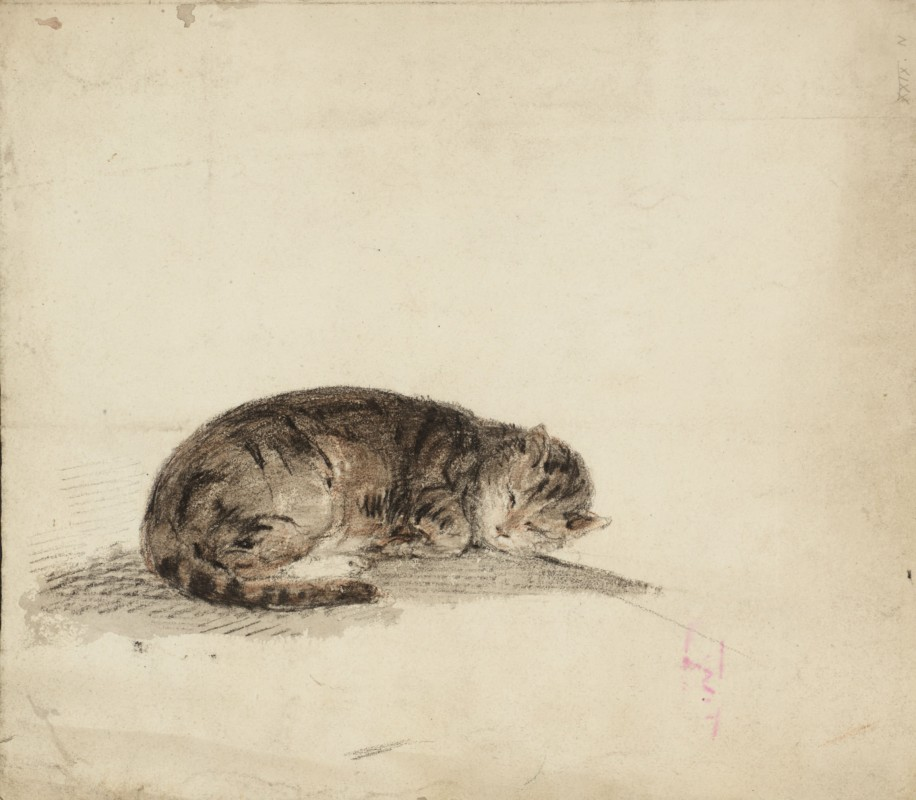 ca. 1796–1797, chalk and watercolour on paper. 23.8 x 27.8 cm. Collection Tate, London (D40247).