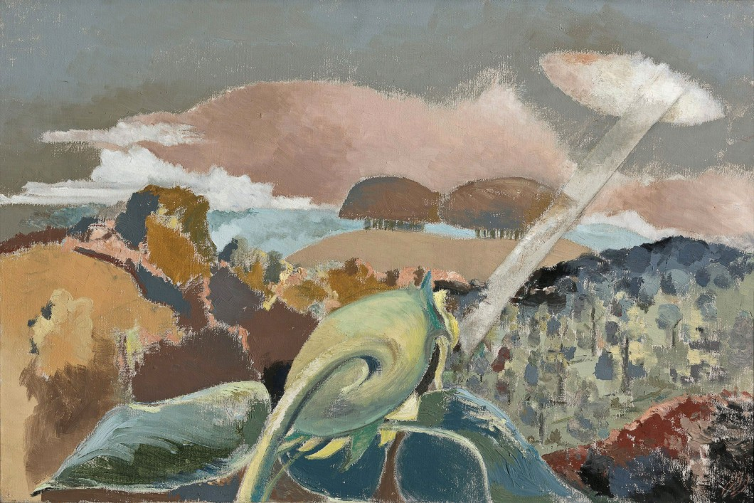 1942, oil on canvas, 51.1 x 76.5 cm. Collection of Art Gallery of New South Wales (74350).
