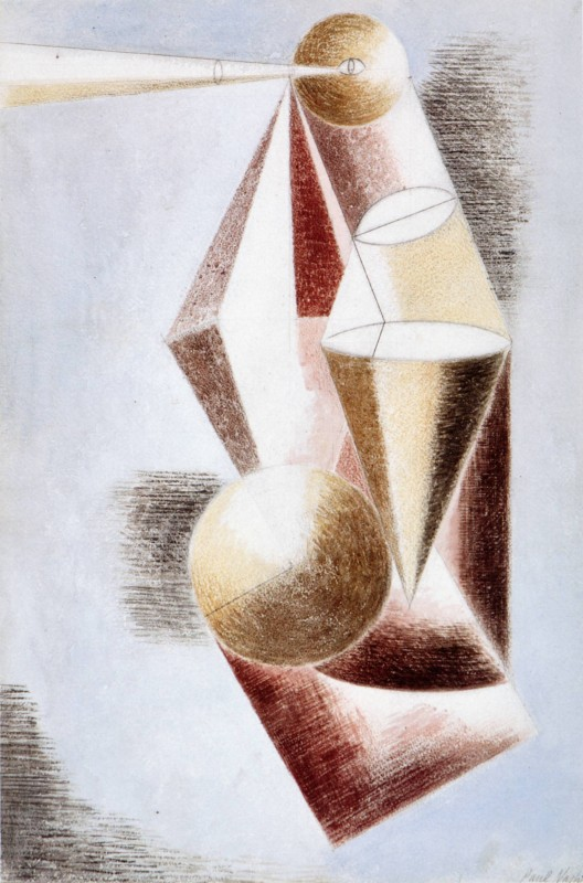 1932, pencil, chalk, and watercolour on paper, 55.9 x 37.5 cm. Collection of St Anne's College, Oxford.
