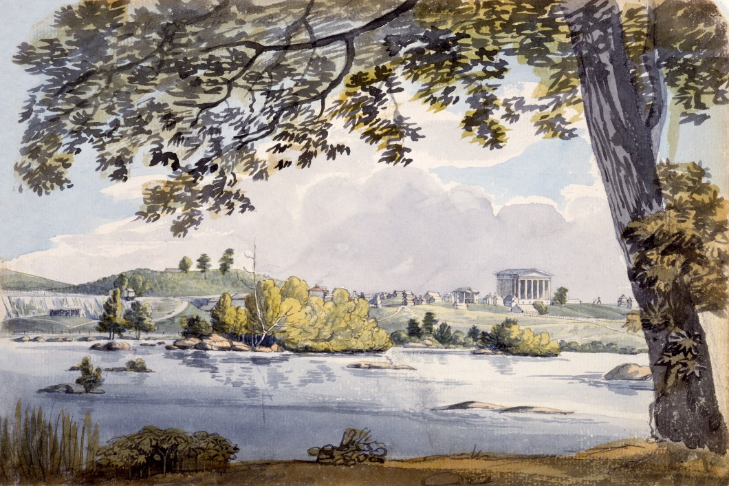 1796, watercolour, 17.7 x 26.6 cm. Collection of Maryland Historical Society (1960-108-1-1-36).