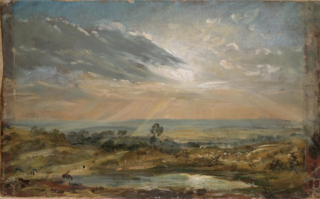 ca. 1821–22, oil sketch, dimensions unknown. Collection of Victoria & Albert Museum, London (125-1888).