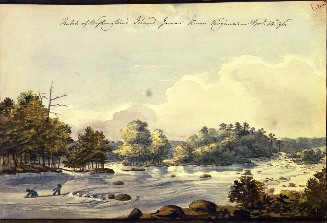 1796, watercolour, 17.7 x 26.6 cm. Collection of Maryland Historical Society (1960-108-1-1-33).