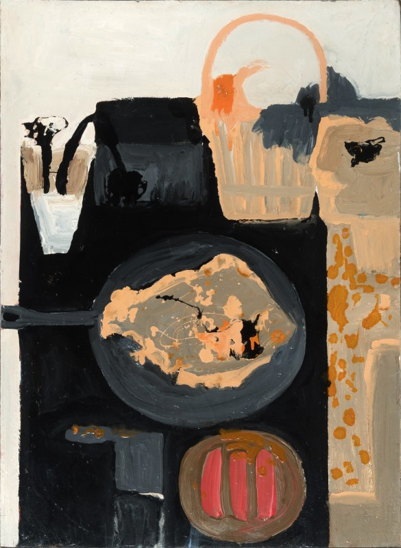 1957, oil on board, 76.2 x 54.6 cm. Collection of Jerwood Collection (JF 217).