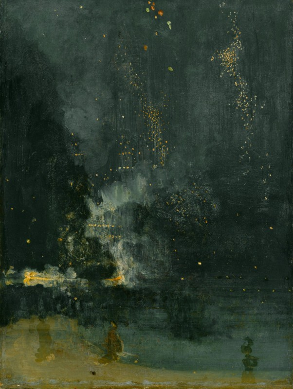 Nocturne in Black and Gold, the Falling Rocket