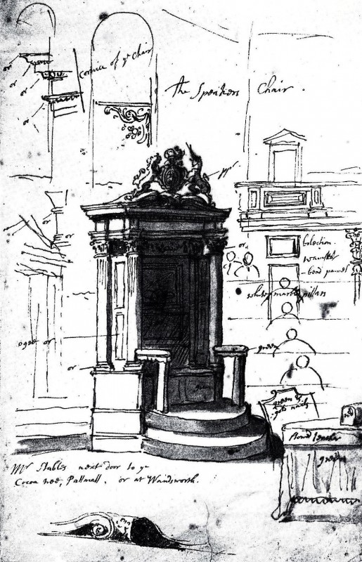 Study of the Speaker's Chair, Former Greater London Council