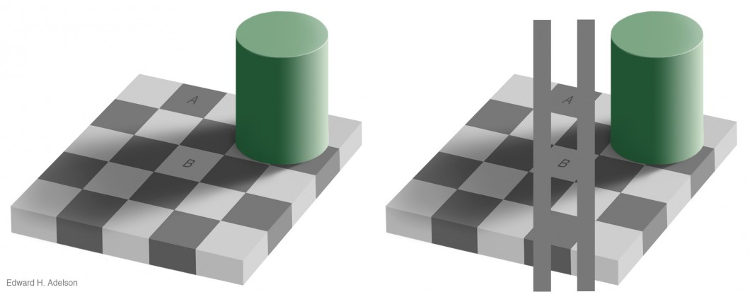 Adelson's Checker-Shadow Illusion