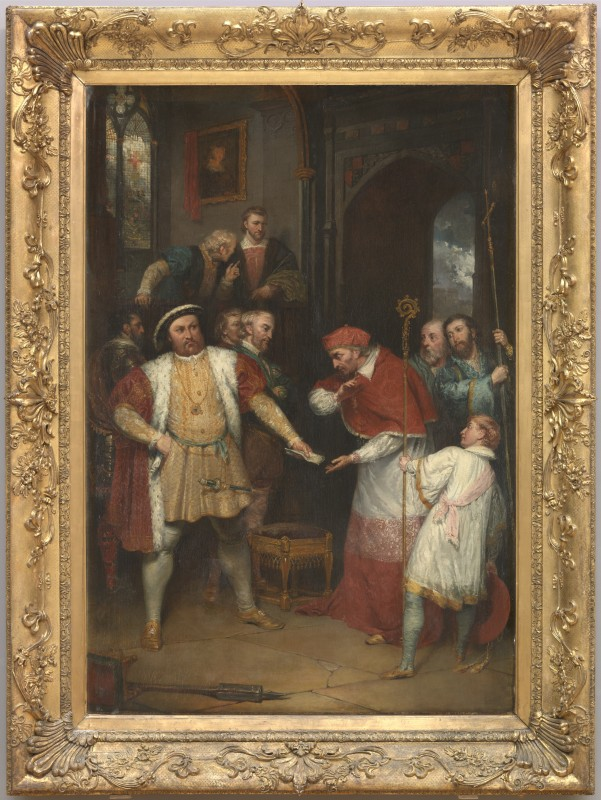 painting and frame, exhibited 1814, oil on canvas, 191 x 122.5 cm. Collection of Tate (T06485).