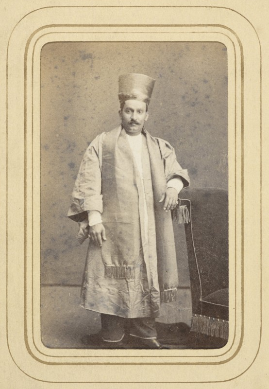 1870, albumen print. Collection of the British Library, Photo 127 /(87)