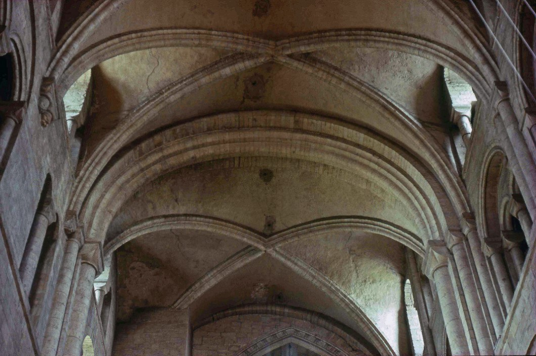 <i>vault over the north transept</i>.