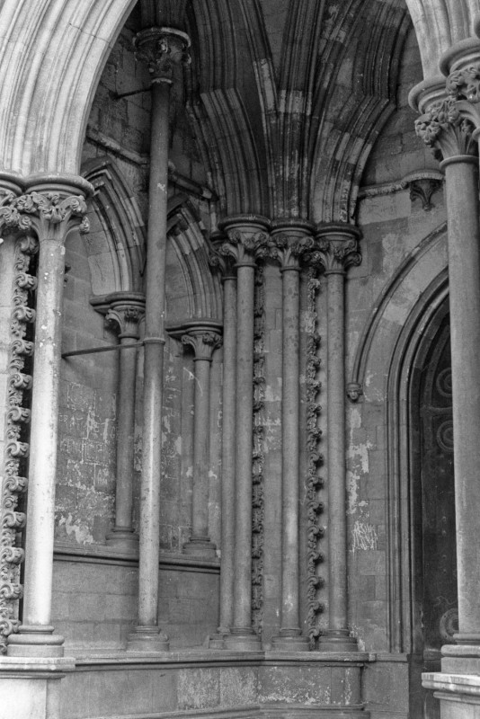<i>the much restored south-west porch</i>.