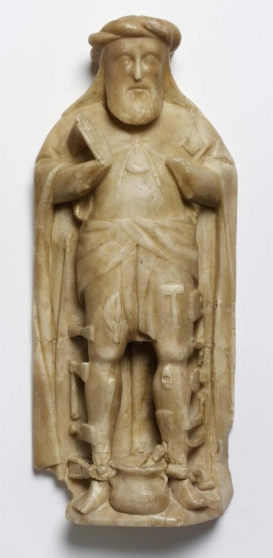 c. 1500, England, alabaster. Collection Victoria & Albert Museum, London, (A.1-2010).