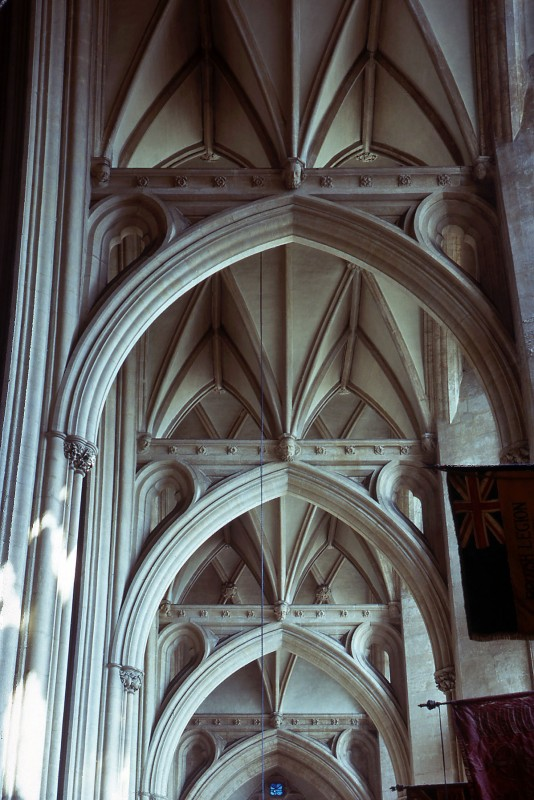<i>vault over the south aisle</i>.